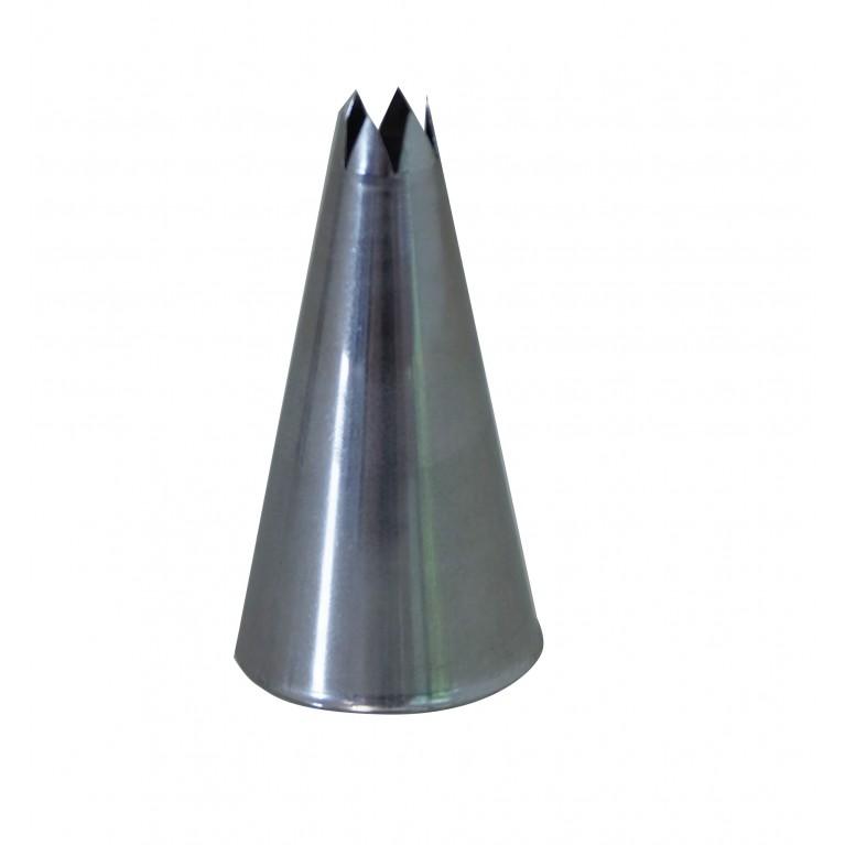 BOQUILLA INOX - DENTADA - A8 - Ø0,5CM