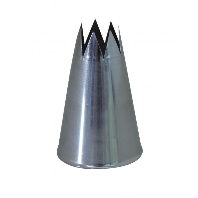 BOQUILLA INOX - DENTADA - F8 - Ø2,5CM