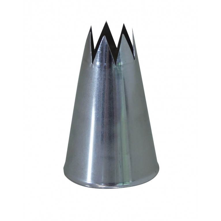 BOQUILLA INOX - DENTADA - D7- Ø1,6CM